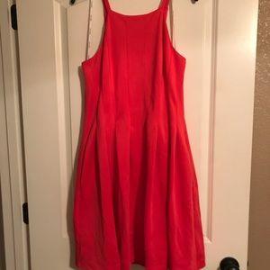 Salmon Calvin Klein Dress